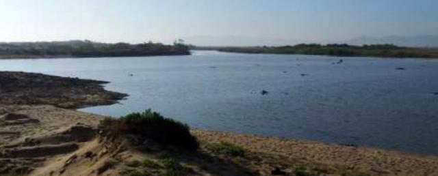 Embourchure de l'Oued Boukhmira, Annnaba, Nord-Est algérien