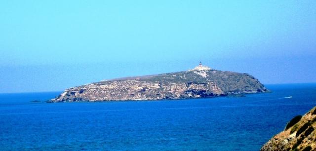 Île Rachgoun, ouest algérien