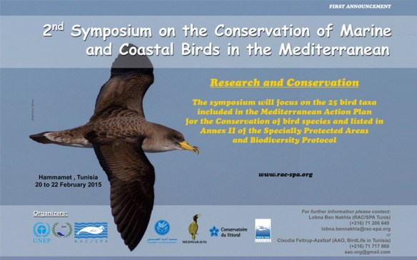 2nd symposium on the conservation of coastal and marine bird species