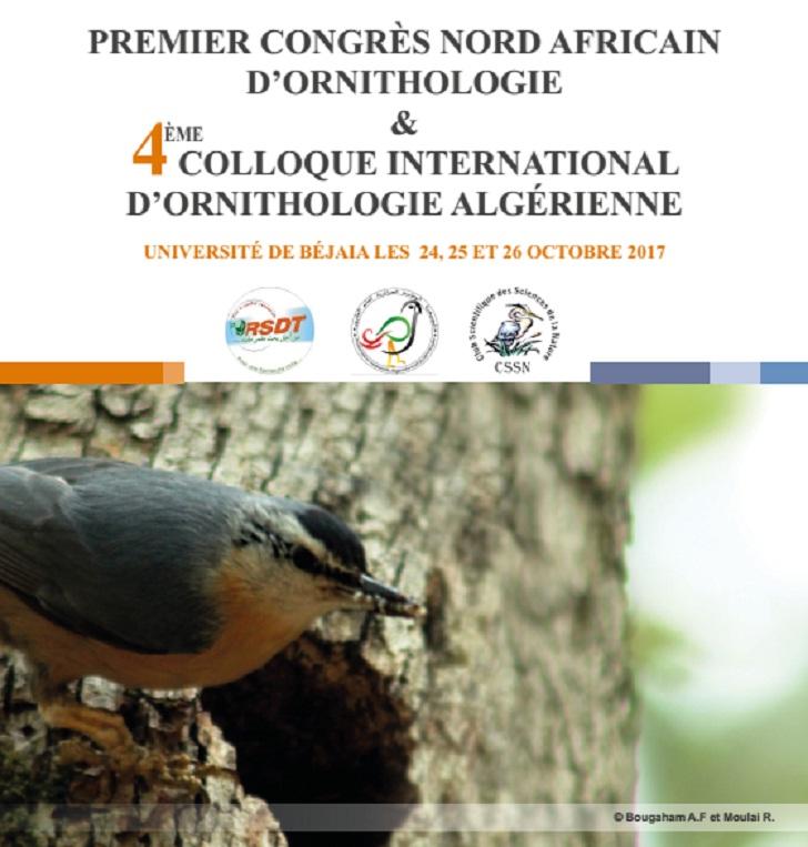 Premier Congrès Nord-Africain d'Ornithologie et le 4ème Colloque International d'Ornithologie Algérienne